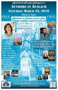 Authors in Apalach March 19, 2016